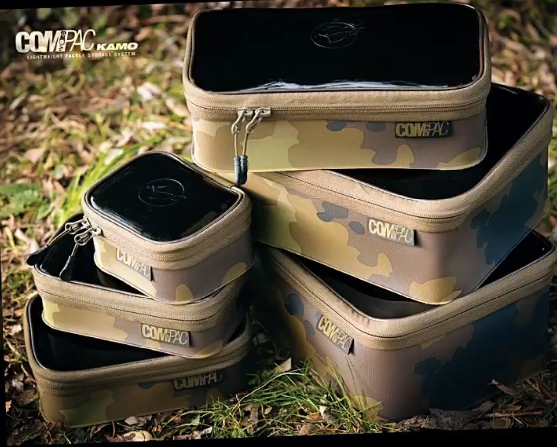 Korda COMPAC Kamo serie 100 110 125 140 200 220 Camo Edition Eva bag new neuf dans sa boîte